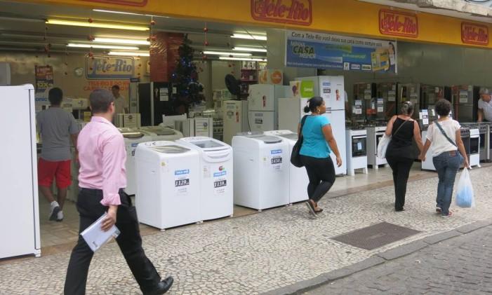 Loja em rua do Rio Foto: Ana Clara Veloso / Divulgação