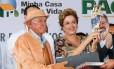 Dilma entrega unidades habitacionais do Programa Minha Casa Minha Vida, em Juazeiro