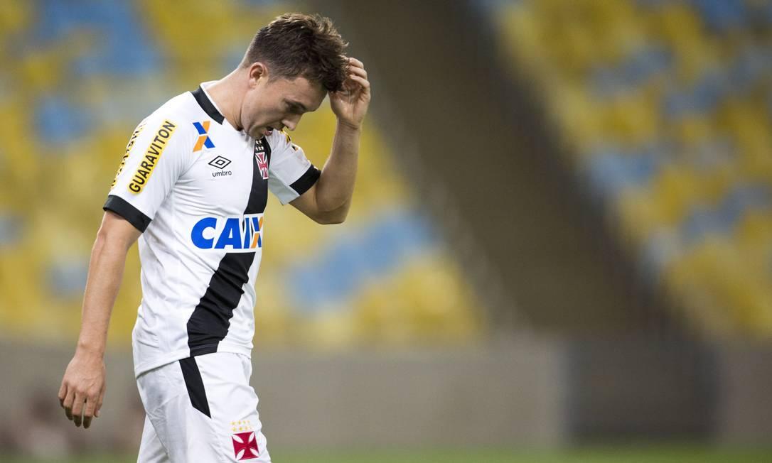 Dagoberto marcou apenas um gol com a camisa do Vasco Guito Moreto / Agência O Globo