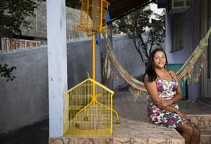 A professora Ivana Martins não vai às manifestações de domingo contra o governo Dilma Foto: Mônica Imbuzeiro / Agência O Globo