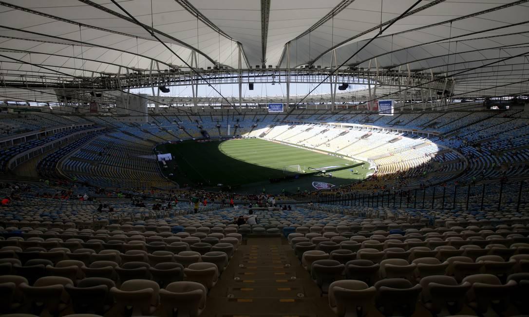 Maracanã neste domingo, para o jogo entre Fluminense e Figueirense Rafael Moraes / Agência O Globo
