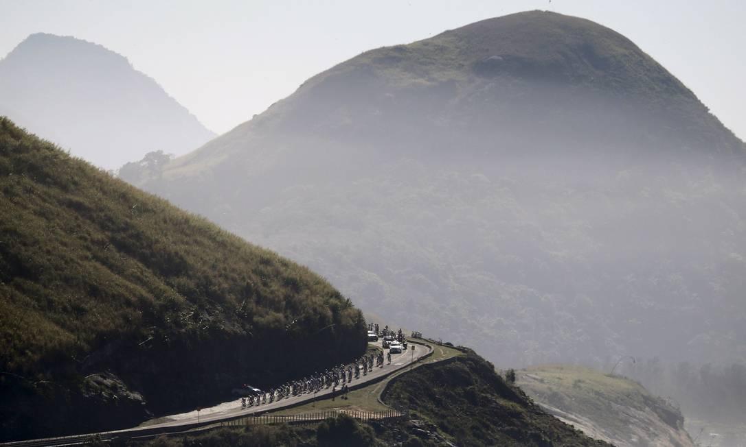Nas Olimpíadas de 2016, a extensão do circuito de ciclismo de estrada será ainda maior: os atletas vão pedalar por 200km SERGIO MORAES / REUTERS
