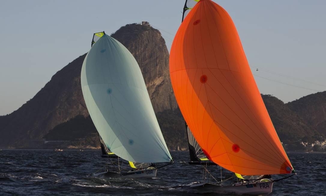 O evento-teste de agosto, a um ano dos Jogos, tem disputas nas dez categorias olímpicas da vela Guito Moreto / Agência O Globo
