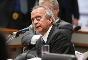 Nestor Cerveró, ex-diretor da área internacional da Petrobras Foto: André Coelho / Agência O Globo