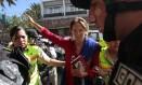 Jornalista franco-brasileira Manuela Picq foi absolvida de deportação após ter visto cancelado Foto: JUAN CEVALLOS / AFP