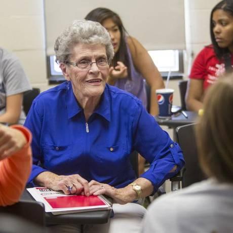 Jean junto aos colegas de classe em 2013 Foto: Divulgação/University of Nebraska-Lincoln