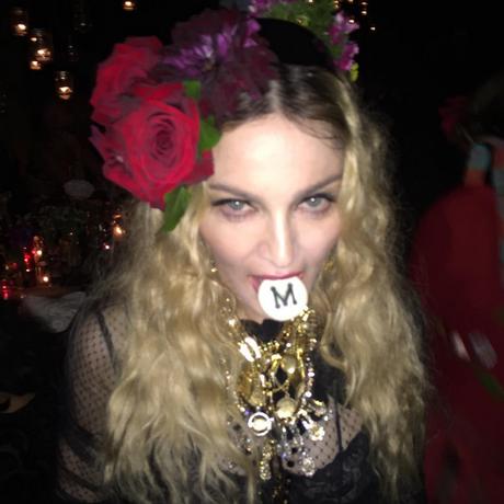 Madonna comemorou seus 57 anos em festa com tema cigano Foto: Reprodução/Instagram da Madonna
