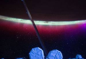 """As """"correntes de partículas"""" são produzidas devido a erupções gigantes de gás Foto: -- / AFP"""