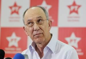 Rui Falcão, presidente do PT Foto: Michel Filho / MIchel Filho/27-10-2014