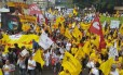Servidores públicos gaúchos decretam greve geral de três dias contra parcelamento de salários