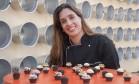 Fabiana D'Angelo ensina receitas de brigadeiros gourmet no Circuito Rio Gastronomia Foto: Adriana Lorete / O Globo