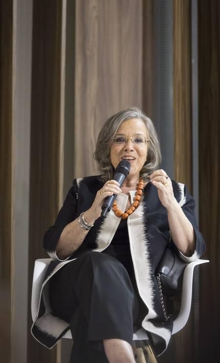 A imortal Rosiska Darcy de Oliveira Foto: Leo Martins / Agência O Globo