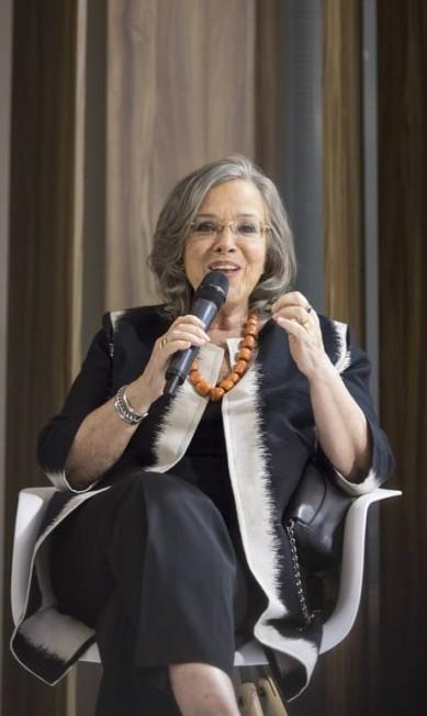 A imortal Rosiska Darcy de Oliveira Leo Martins / Agência O Globo