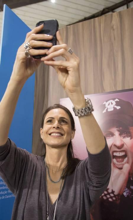 A atriz Sílvia Pfeifer Foto: Leo Martins / Agência O Globo