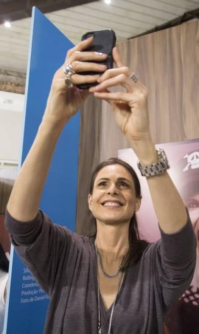 A atriz Sílvia Pfeifer Leo Martins / Agência O Globo