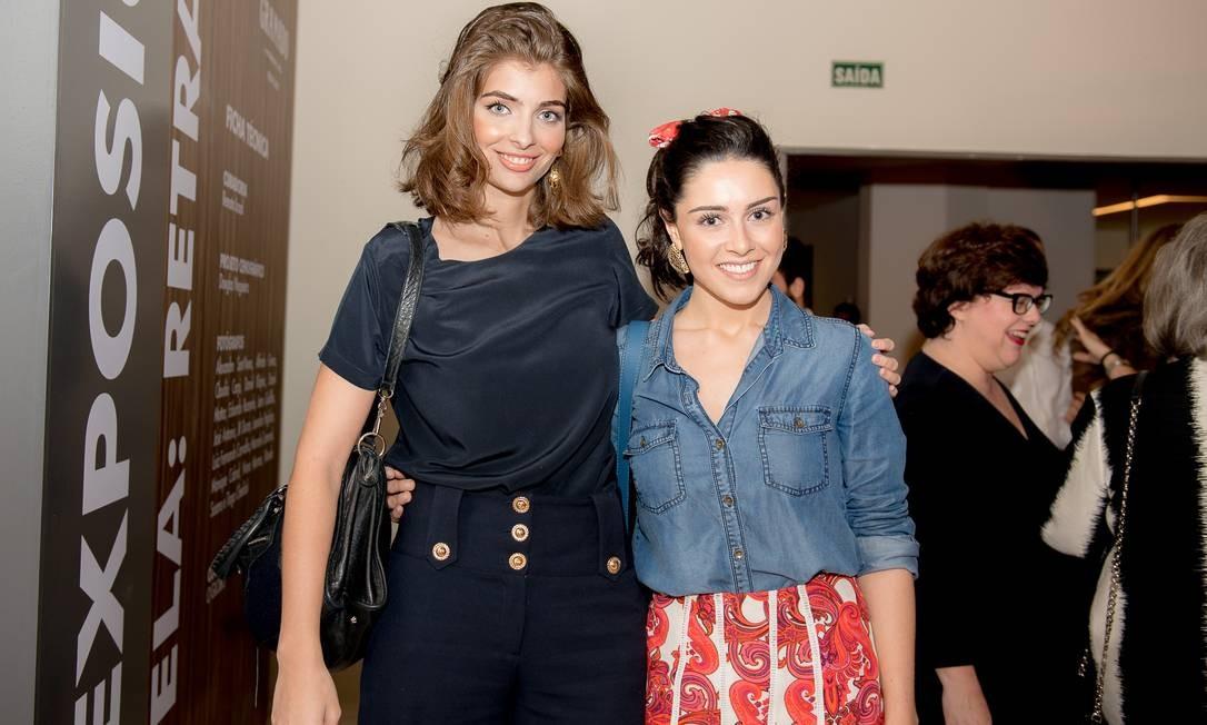 Maria Frering e Camila Cunha, as sócias da Voya Foto: Divulgação