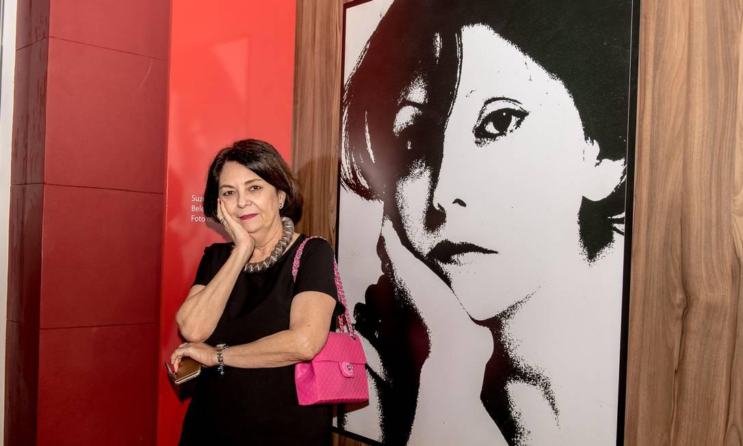 A ex-modelo e jornalista Suzete Aché Divulgação