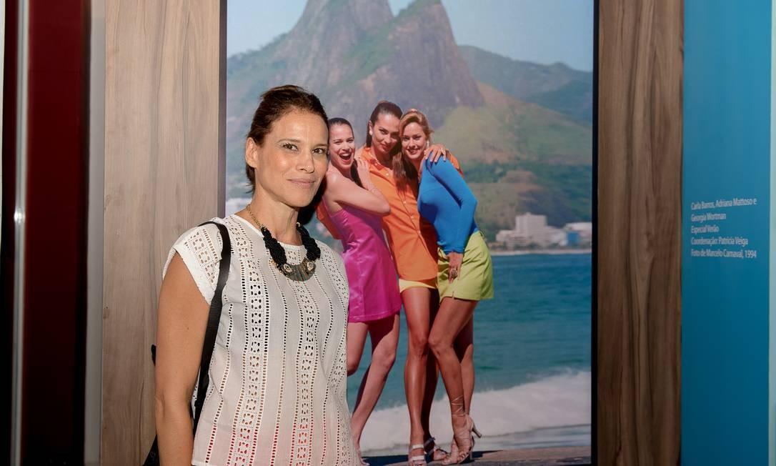 A ex-modelo Carla Barros Foto: Divulgação