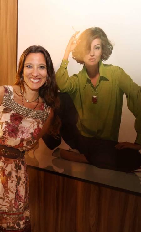 A estilista Isabela Capeto Foto: Marcos Ramos / Agência O Globo