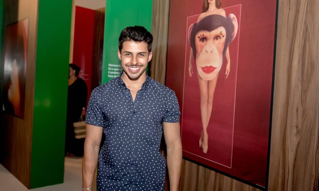 O produtor de moda Rodrigo Coelho Divulgação
