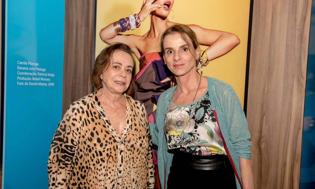 A estilista Mara Mac Dowell e ex-coordenadora de moda do ELA Patricia Veiga Divulgação
