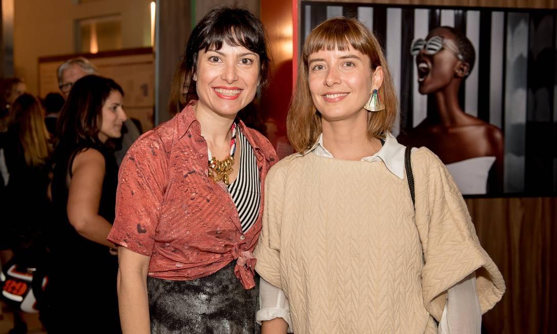 Ana Wambier e Dani Sabbag, a dupla da Wasabi Foto: Divulgação
