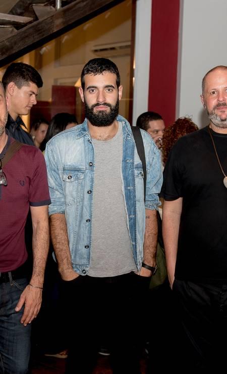 A designer de joias Monica Pondé e o produtor de moda Rogério S. Foto: Divulgação