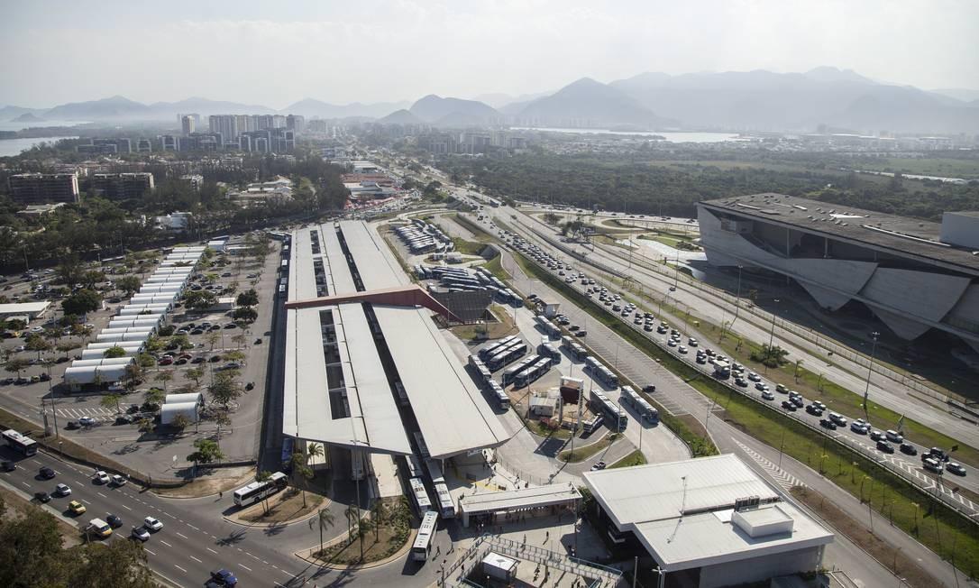 Mudanças vão acontecer tanto na parte interna como no entorno do terminal Foto: Hermes de Paula
