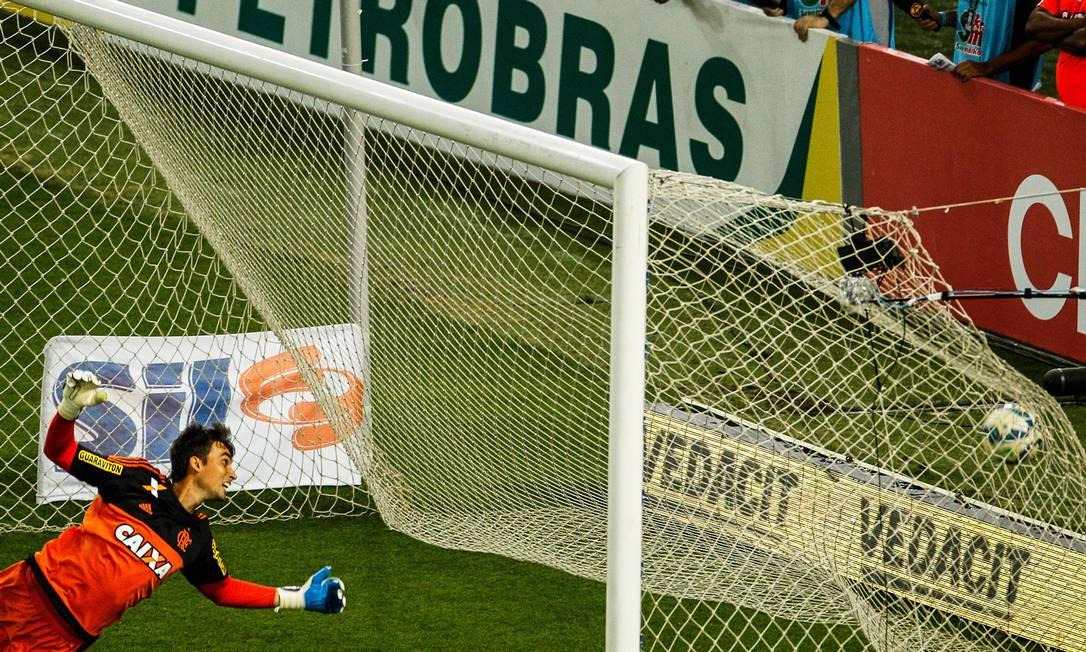 Gol de Jorge Henrique do Vasco Guilherme Leporace / Agência O Globo