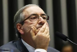Eduardo Cunha é denunciado por corrupção e lavagem de dinheiro Foto: Ailton de Freitas / Agência O Globo