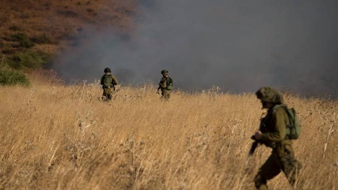 Ataque do lado sírio não deixou feridos Foto: JINIPIX / REUTERS