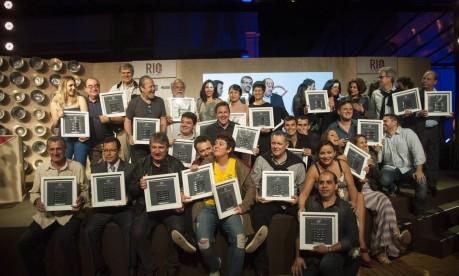 Os vencedores do Prêmio Rio Show de Gastronomia Foto: Adriana Lorete / O Globo