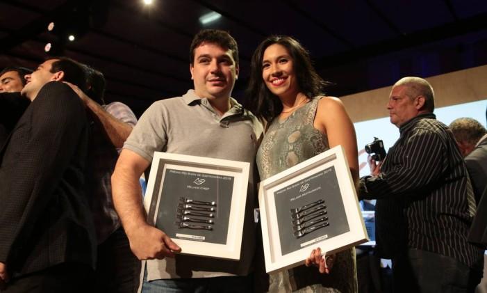 Rafa Costa e Silva levou os prêmios de melhor chef e melhor restaurante pelo Lasai Foto: Cecilia Acioli / O Globo