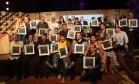 Os vencedores da edição 2015 do Prêmio Rio Show de Gastronomia Foto: Cecilia Acioli / O Globo