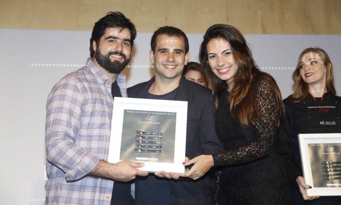 O Boteco Doc levou o prêmio de melhor pé-limpo Foto: Fabio Rossi / O Globo