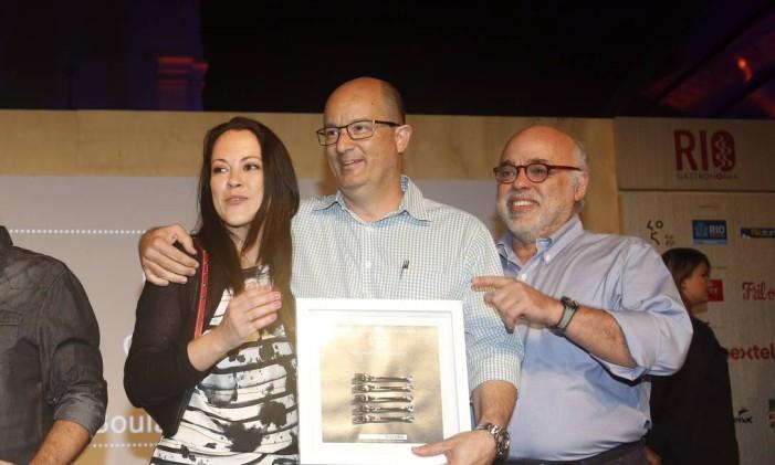 Janjão Garcia comemorou o prêmio de melhor sanduíche pela Casa Carandaí Foto: Fabio Rossi / O Globo