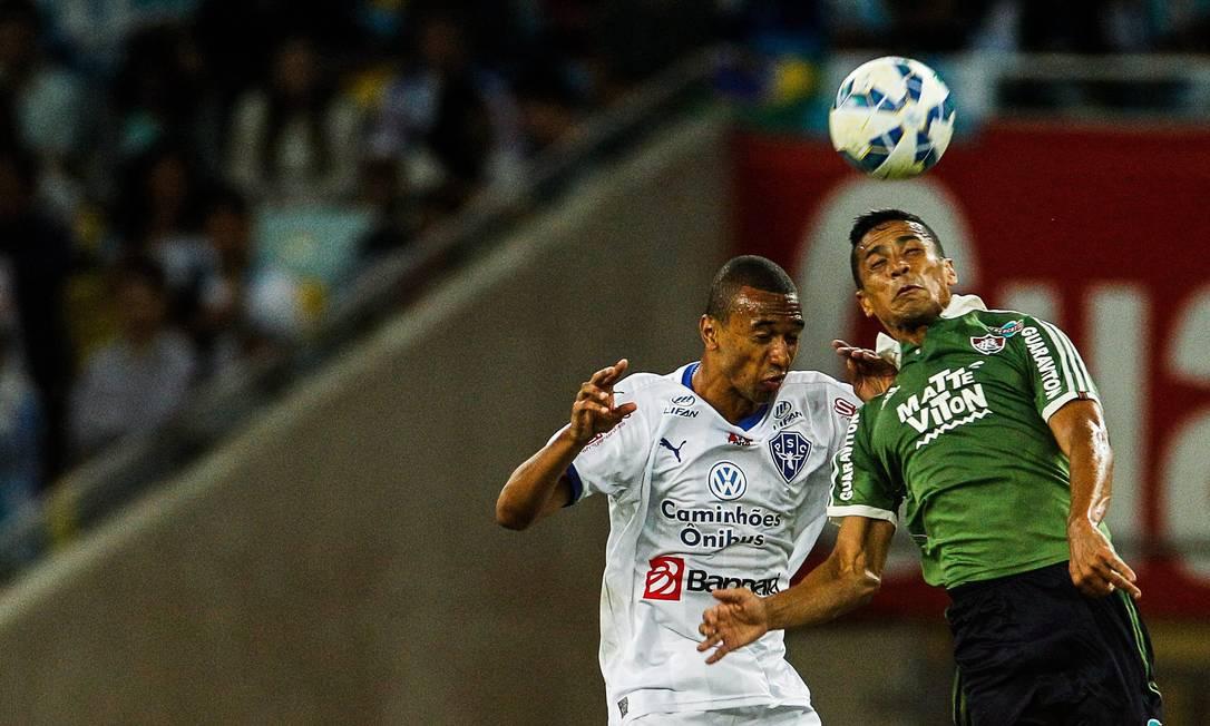Fluminense x Paysandu Guilherme Leporace / Agência O Globo