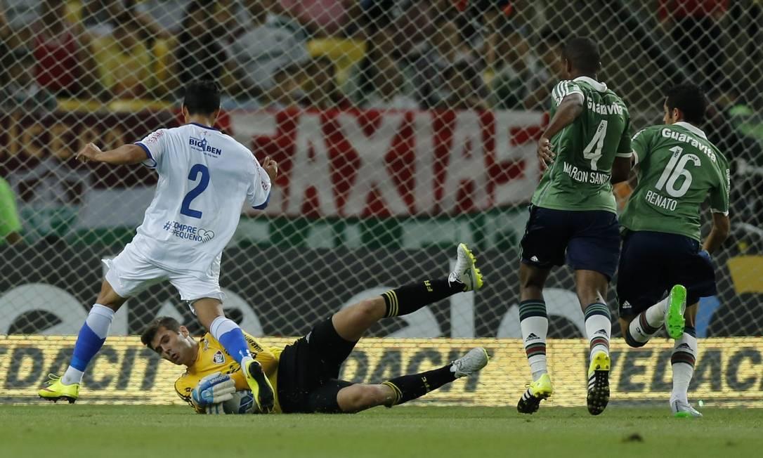 Fluminense x Paissandu no Maracanã Alexandre Cassiano / Agência O Globo