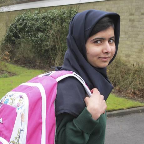 Malala Yousafzai fica entre as primeiras colocadas em exame britânico de educação Foto: HANDOUT / REUTERS