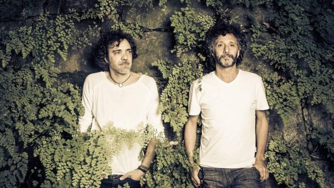 Moska e Fito misturaram referências de cenários brasileiros e da América hispânica nas letras do disco Foto: Jorge Bispo
