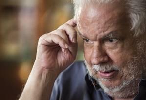 """Vladimir Palmeira, ex-petista: """"Não vi provas (contra Dirceu) no mensalão. Agora (Lava-Jato), vamos ver"""" Foto: ANTONIO SCORZA / Agência O Globo"""