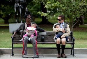 """Cena do filme """"O que esperar quando você está esperando"""": divisão das tarefas com os filhos foi analisada em 487 casais Foto: Divulgação"""
