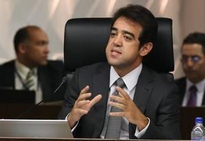 """Para o ministro Bruno Dantas, """"é um modelo que vem servindo de escudo contra a fiscalização"""" Foto: Ailton de Freitas / O Globo"""