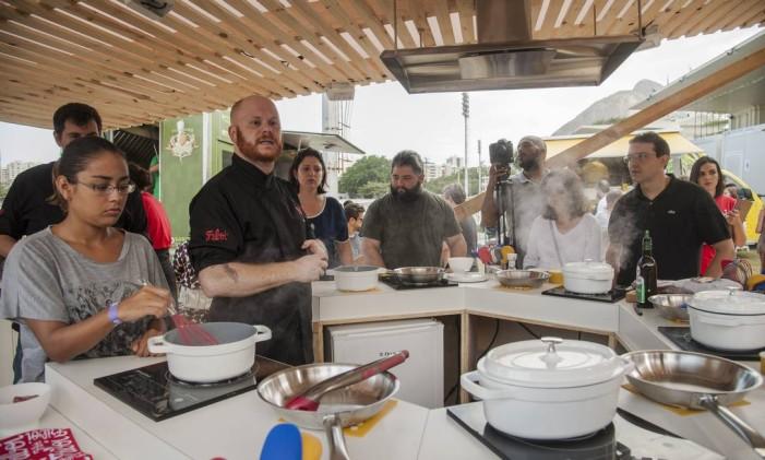 O chef Arthur Sauer. Foto: Adriana Lorete / O Globo