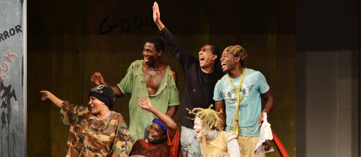 """""""Os meninos de ninguém"""", com o grupo Mutumbela Gogo, de Moçambique, abre o festival Foto: Yassmin Forte / Divulgação"""
