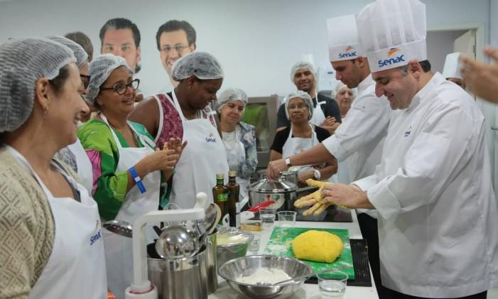 Nhoque Foto: Cecilia Acioli / O Globo