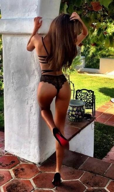 Mais um clique sexy da modelo Reprodução/ Instagram