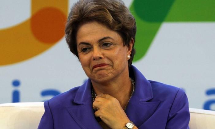 A presidente Dilma Rousseff Foto: Givaldo Barbosa / Agência O Globo