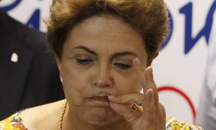 Presidente Dilma Roussef Foto: Marcelo Carnaval / Agência O Globo