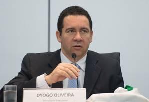 O Secretário-Executivo do Ministério do Planejamento, Dyogo Oliveira Foto: Marcelo Camargo / Agência Brasil